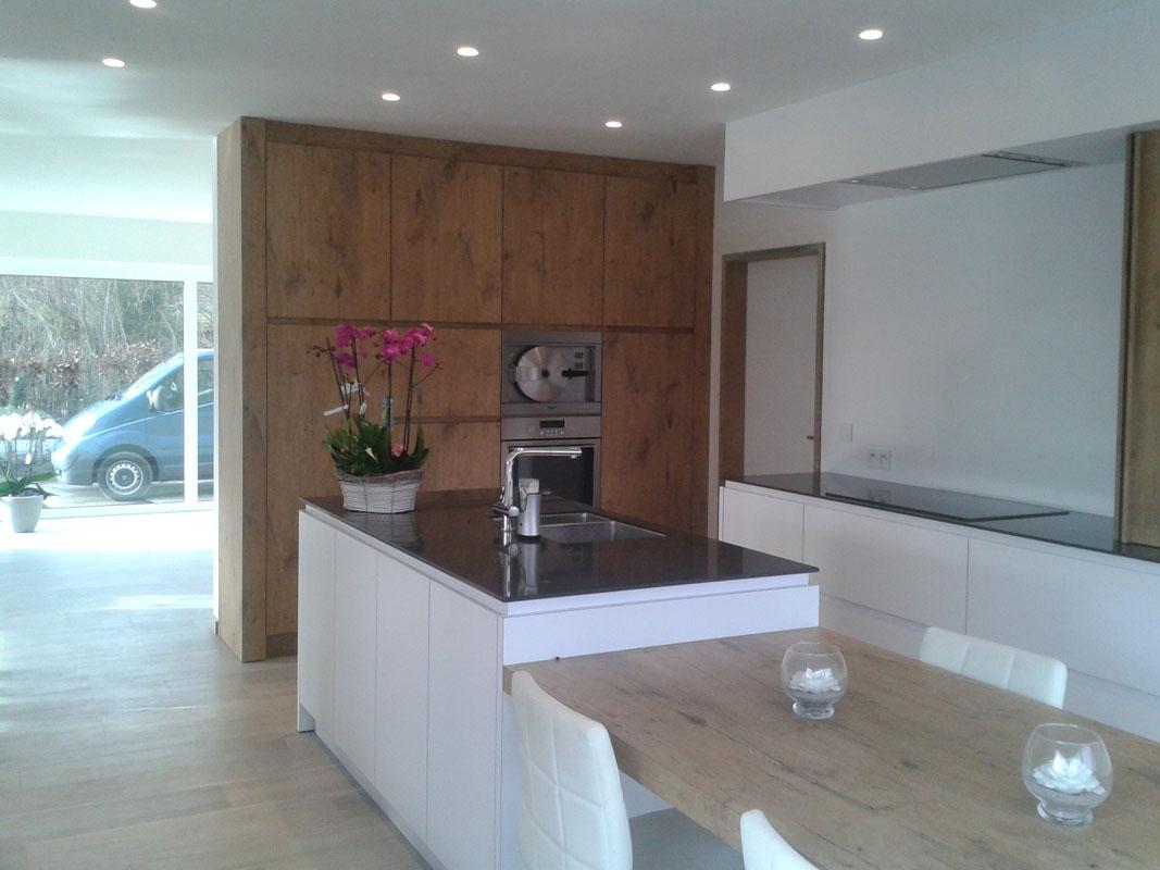 Keuken kasten melamine beste inspiratie voor interieur design en meubels idee n - Hoe dicht een open keuken ...